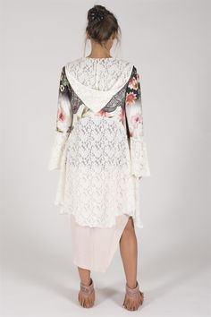 Cardigan  Gerda floral  LIMITED EDITION via Hagagården. Click on the image to see more!