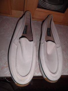 Cole Haan Mens White Deck Shoes Size 9 | eBay