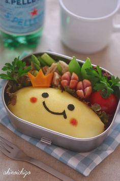 にっこりオムライスのお弁当 - キャラ弁連載:15分でできる簡単キャラクター弁当... : 子どもが喜ぶ!幼稚園に持って行かせたいオムライス弁当レシピ&画像 - NAVER まとめ