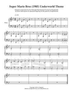 You know that gorgeous oversized framed sheet music print image that's been floating around Pinterest?  I'm going to try making it with Mario music.  This guy transcribed everything, and posted it for the world for free!!