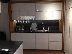 Ikea metod kitchen with worktop framing units