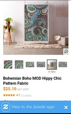 A cheap way to create a large DIY stretched fabric artpiece!!
