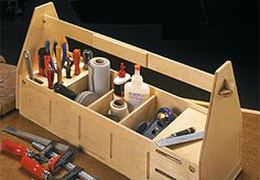Tool Totes Woodworking Plan