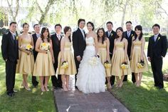 Yellow wedding - Hostess with the Mostess® - Modern Glamour Wedding