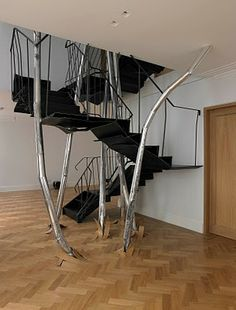 Vincent Dubourg - stairs are located in Knightsbridge (London UK)