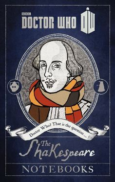Doctor Who Shakespeare Notebook
