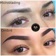 Microblading Before and After : Illustration Description Katie Dang Eyebrow Makeup Tips, Permanent Makeup Eyebrows, Natural Brows, Natural Eye Makeup, Mircoblading Eyebrows, Eye Brows, Eyebrow Shading, Eyebrow Tattoo, Makeup Pictorial