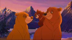 "Nita, Kenai, and Koda from ""Brother Bear 2"". Setting: early Inuit civilization."