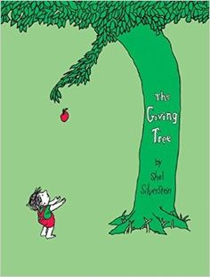'Once there was a tree...and she loved a little boy.'  So begins a story of unforgettable perception, beautifully written and illustrated by the gifted and versatile Shel Silverstein.  Every day the boy would come to the tree to eat her apples, swing from her branches, or slide down her trunk...and the tree was happy. But as the boy grew older he began to want more from the tree, and the tree gave and gave and gave.