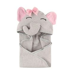Hudson Baby Unisex Baby Animal Face Hooded Towel, Pretty Elephant 1-Pack, One Size #baby  #babyregistry #babyessentials #WhatBabiesLove #babyproducts #babymusthave #pregnantdogideas #diapers #babies #newmoms  #parentingtips  #moneysaving  #baby  #pregnancy #mom #toys