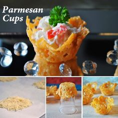 Creative Recipes Collection!: Parmesan Cups Make for Simple Canapes