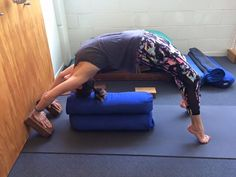 1000 images about iyengar yoga bolster on pinterest