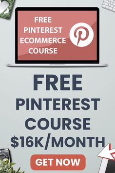 A free Pinterest Ecommerce course showing how to use Pinterest for ecommerce. Learn how to use Pinterest for Shopify or Woocommerce or other ecom platform. From creating Pinterest sales funnels to your store to running Pinterest ads for Shopify. Pinterest For Shopify | How To Use Pinterest For Shopify | Dropshipping on Pinterest | Pinterest Marketing Ecommerce | How To use Pinterest For Ecommerce | Pinterest Ecommerce | Pinterest Shopify #shopify #ecommerce #dropshipping Digital Marketing Strategy, Online Marketing, Affiliate Marketing, Marketing Ideas, Online Business Opportunities, Business Tips, Free Ecommerce, Selling On Pinterest, Pinterest Pinterest