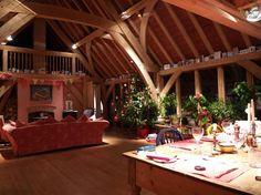 'T' shape barnhouse in Devon | Carpenter Oak
