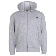 Slazenger | Slazenger Full Zip Hoody Mens | Mens Hoodies