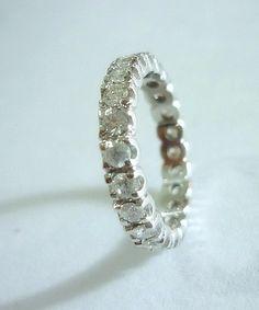 Alianças de Diamantes em ouro Branco!