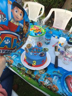 Paw Patrol birthday party ! Best gift ideas