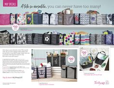 Thirty-One Gifts – May is here! #ThirtyOneGifts #ThirtyOne #Monogramming #Organization #May2018Special #LargeUtilityTote