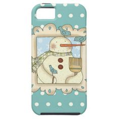 Christmas Snowman iPhone5 case mate vibe iPhone 5 Cases