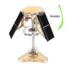STARK-6 Solar Magnetic Levitation Mendocino Motor Education Model Steam Stirling Engine Sale - Banggood.com Mendocino Motor, Stirling Engine, Magnetic Levitation, St Kitts And Nevis, Solar Energy, Toys, Solar Power, Gaming