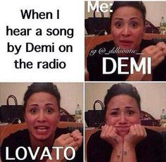 All Lovatics when they hear Demi :') Demi Lovato Albums, Demi Lovato Quotes, Demi Love, Love Her, Demi Lovato Pictures, Strong Love, Stay Strong, Just Deal With It, I Want To Cry