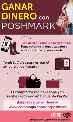 348b902dac Ganar dinero en Poshmark  Cómo vender ropa usada rápido y fácil 👗