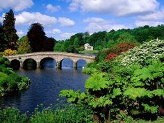 Stourhead garden, Wiltshire, England