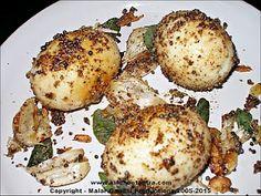 Milagu Varutha Muttai/Fried Pepper Eggs