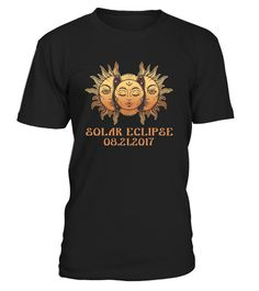 "# Total Solar Eclipse Limited T-Shirt .   The solar eclipse of 2017 is happening in America. Get this beautiful graphic tshirt showing ths moon covering the sun, with ""Eclipse 2017"" overlayed. This is the ideal gift for astronomers or any one who is going to see the totality of the solar eclipse. The path of the total solar eclipse crosses the United States of America on 21 August 2017, make sure you grab this tee to celebrate this magnificent event. Be the envy of your friends with this…"