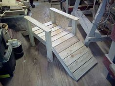 """Pallet foot bridge roughly 18"""" wide by 40"""" long by 22"""" High I was bore… :: Hometalk"""