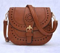 Cute bag and detail.  Love the cross body strap for hands free.