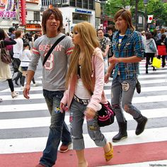 Shibuya fashion x3