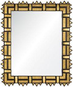 Mirror Image Home Gold Leaf Mirror Framed Mirror – CLAYTON GRAY HOME