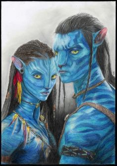 Avatar, Neytiri et Jake