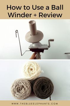Learn all about how to make a yarn ball with the Knit Picks ball winder. Also, check out how this ball winder helps me organize my stash! Knitting Help, Knitting Yarn, Knitting Ideas, Yarn Winder, Yarn Organization, Yarn Storage, Knitting Accessories, Craft Accessories, Easy Crochet Patterns