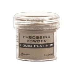 (EPJ37484 /1.1)  a silver embossing powder that creates a less shiney look