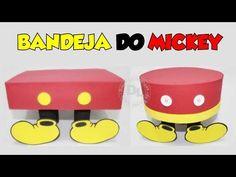 DOCES LEMBRANÇAS DA SANDRA ARTERA: Como fazer bandeja para doces do mickey