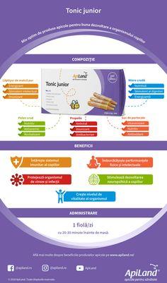 Tonic junior - aliatul copiilor pentru imunitate, memorie și vitalitate