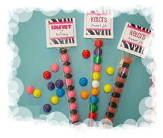 Zebra Candy Sleeve Topper Birthday Goodie Bag Party Gift Fun Creative Favors   eBay