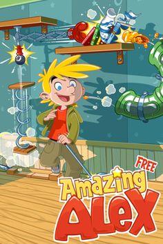 Amazing Alex Free este de acum disponibil in App Store Romania