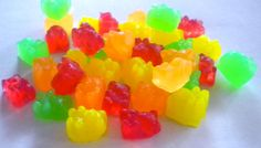 Gummy Bears Soap Party Favors + Gummy Bears Candy  + 45 Mini Soaps  by BigTRanchSoap.etsy.com