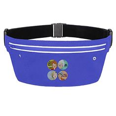 Mens  Womens The Golden Girls Polyester Lycra Gym Walking Running Belt Waist Packs RoyalBlue -- You can get additional details at the image link.