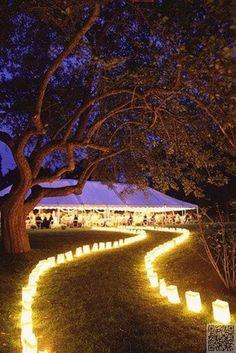 33. get #innovant avec éclairage - 51 #idées pour votre #mariage en plein…