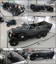 1939 Mercedes-Benz Model G4 Offener Touring Wagon Lyon Air Museum used by German Fuhrer Adolf Hitler