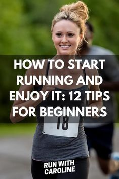 How to start running and enjoy it: 12 tips for beginners - Run With Caroline Proper Running Form, Beginners Guide To Running, Cool Down Stretches, 5k Training Plan, Running Routine, Couch To 5k, Arm Circles, How To Start Running, Marathons