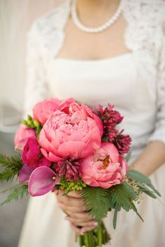 Pink Peonies #wedding #pinkwedding