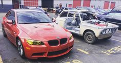 The old and the new #bmw #bmwm3 #m3 #bmw❤️ #bmwlife #bimmer #bimmerpost #bimmerclub #car #cars #aulto #automotive #automobile #monday #repair #classiccars #sportscar #miami #vintage #like #comment #share #follow #repost #instadaily #instamood #instalike #instagood #prestigeautotech