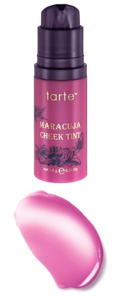 Cheek Tint - Infused with pure maracuja oil, this brightening cheek tint is loaded with antioxidant-rich nutrients to visibly brighten skin. #face #beauty #cheek #blush