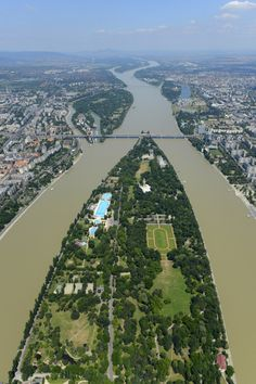 Margaret Island - Budapest, Hungary (Margitsziget)-- has a 3.3 mile jogging trail around the island!!