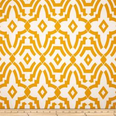 Premier Prints Indoor/Outdoor Chevelle Citrus Yellow from @fabricdotcom  Use cold water and mild detergent (Woolite). Drying is NOT recommended - Air Dry Only - Do not Dry Clean. Colors include yellow and white.